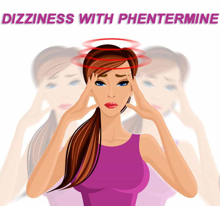 Dizziness with phentermine